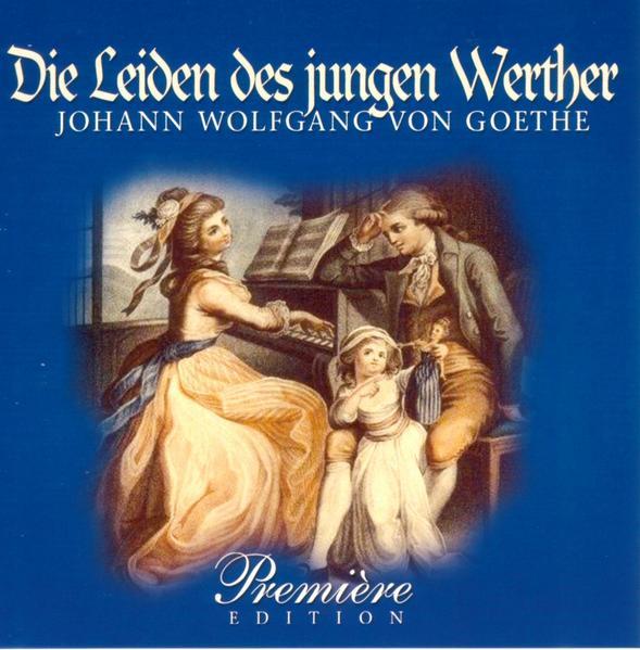 Goethe: Die Leiden des jungen  - Coverbild
