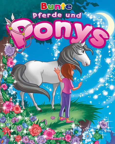 Bunte Pferde und Ponys - Band 2 - Coverbild
