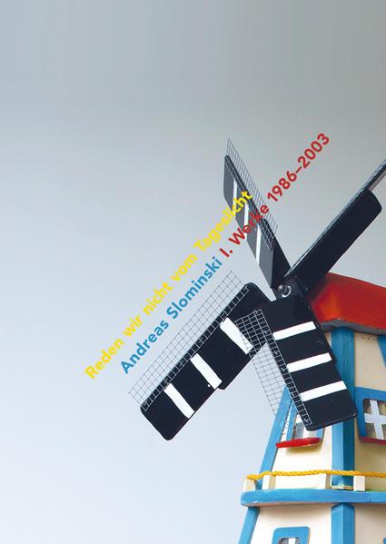 Andreas Slominski - Reden wir nicht vom Tageslicht - Coverbild