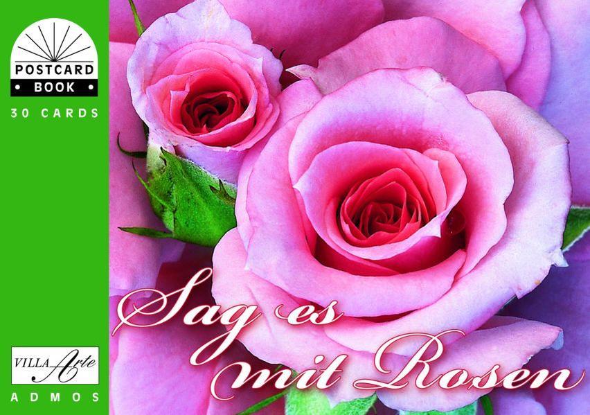 Sag es mit Rosen - Coverbild
