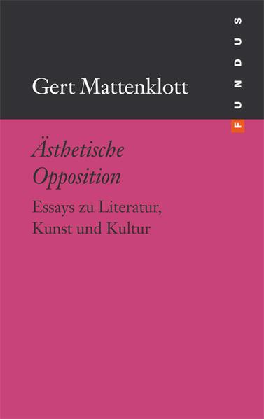 Ästhetische Opposition - Coverbild