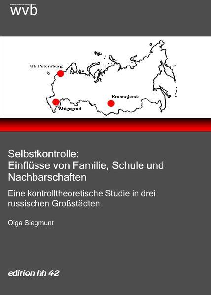Selbstkontrolle: Einflüsse von Familie, Schule und Nachbarschaften - Coverbild