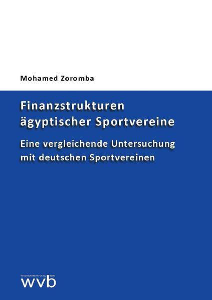 Finanzstrukturen ägyptischer Sportvereine - Coverbild