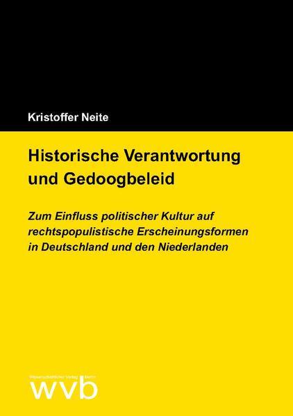 Download PDF Kostenlos Historische Verantwortung und Gedoogbeleid