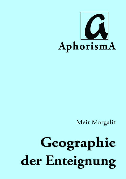 Geographie der Enteignung - Coverbild