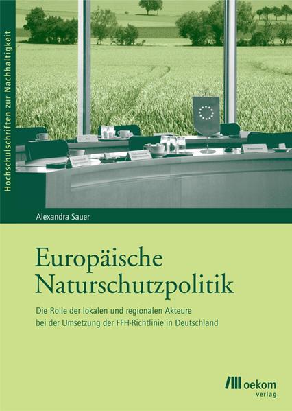 Europäische Naturschutzpolitik - Coverbild