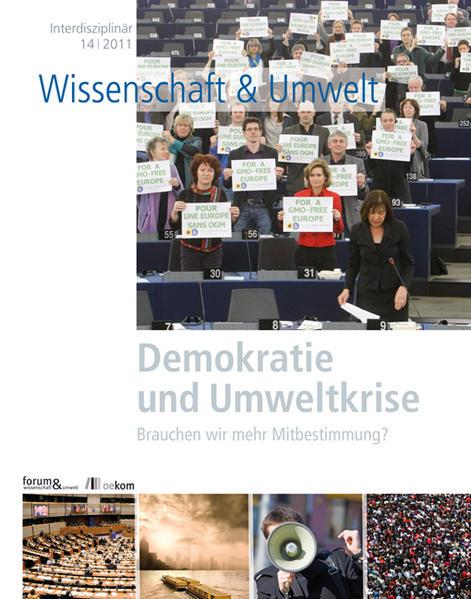Demokratie und Umweltkrise - Coverbild
