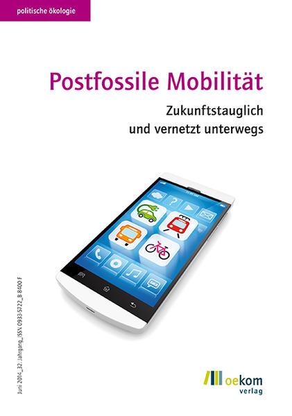 Postfossile Mobilität - Coverbild