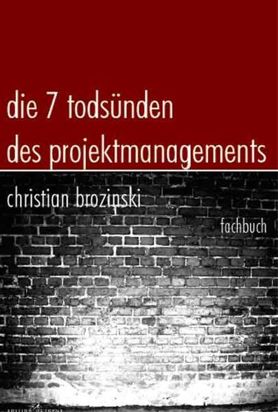 Die sieben Todsünden des Projektmanagements - Coverbild