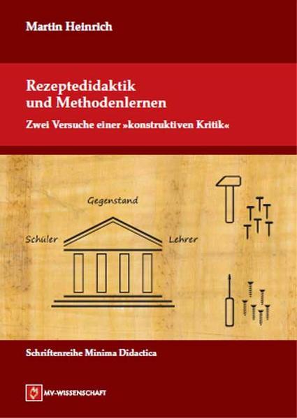 Rezeptedidaktik und Methodenlernen - Coverbild