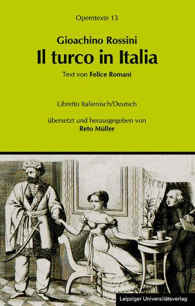 Gioachino Rossini: Il turco in Italia (Der Türke in Italien) - Coverbild