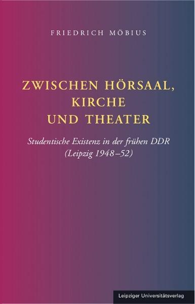Zwischen Hörsaal, Kirche und Theater - Coverbild