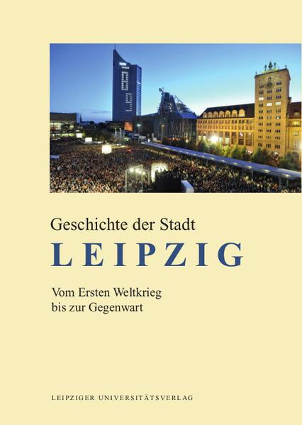 Geschichte der Stadt Leipzig - Coverbild