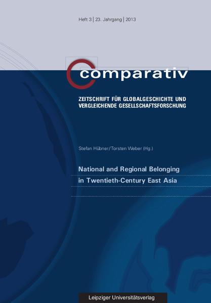 National and Regional Belonging in Twentieth-Century East Asia - Coverbild