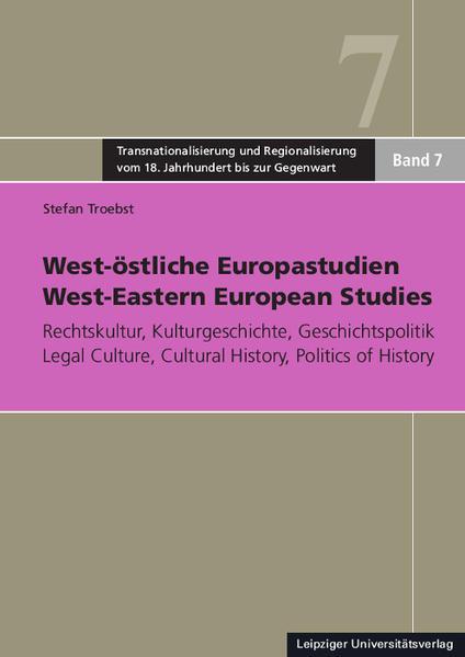 West-östliche Europastudien / West-Eastern European Studies - Coverbild