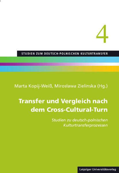 Transfer und Vergleich nach dem Cross-Cultural-Turn - Coverbild