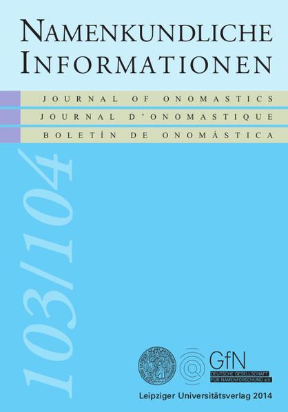 Namen und Geschichte in der Zeit der Einnamigkeit (ca. 400-1100) - Coverbild