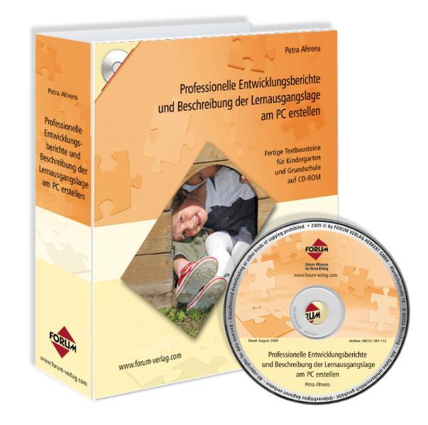 Professionelle Entwicklungsberichte und Beschreibung der Lernausgangslage am PC erstellen - Coverbild