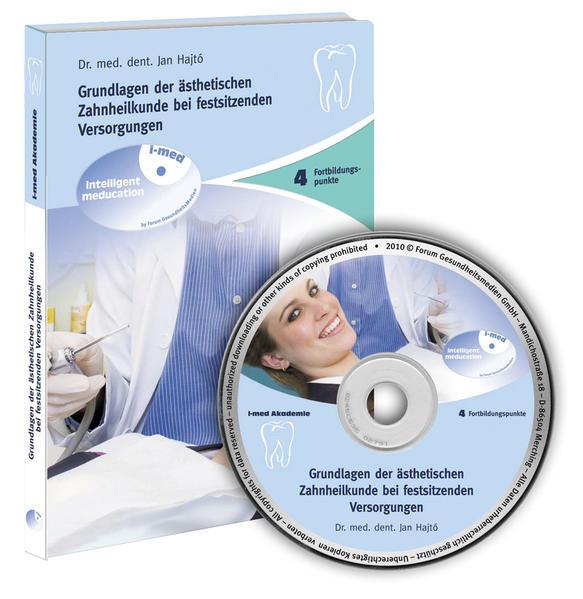 Grundlagen der Ästhetischen Zahnheilkunde bei festsitzenden Versorgungen - Coverbild