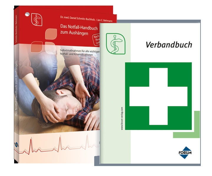 Premium-Ausgabe Notfall-Handbuch plus Verbandbuch