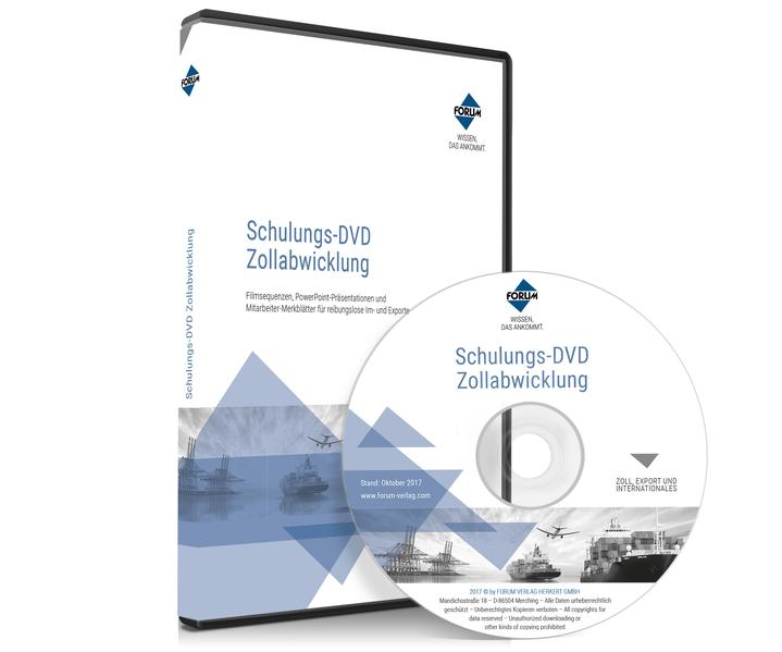 Schulungs-DVD: Zollabwicklung - Coverbild