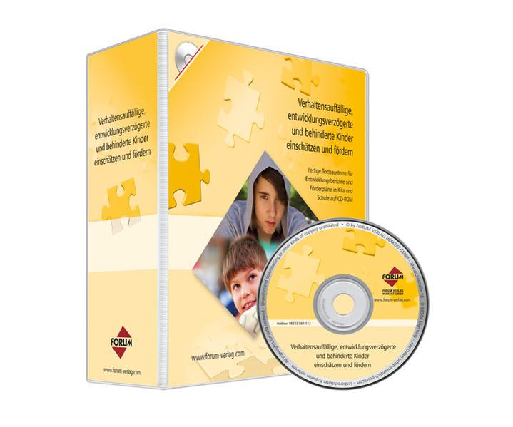 Verhaltensauffällige, entwicklungsverzögerte und behinderte Kinder einschätzen und fördern - Coverbild