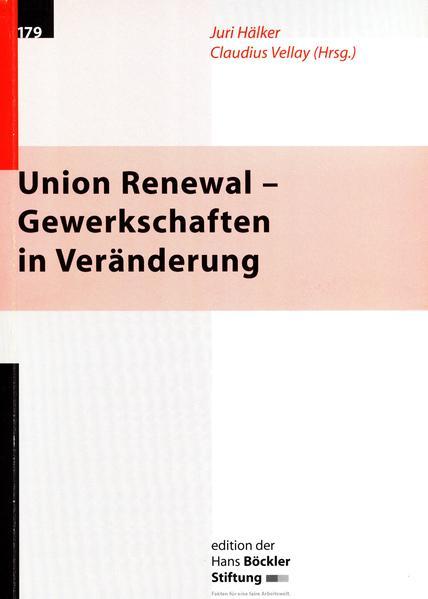 Union Renewal - Gewerkschaften in Veränderung - Coverbild