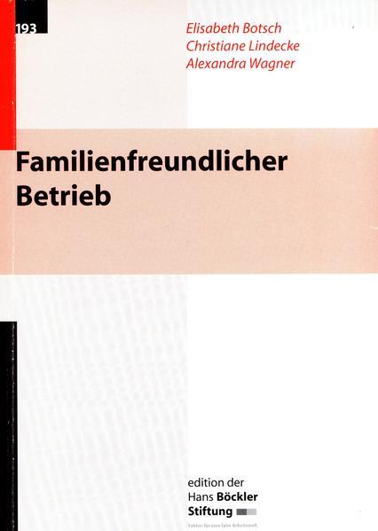Familienfreundlicher Betrieb - Coverbild
