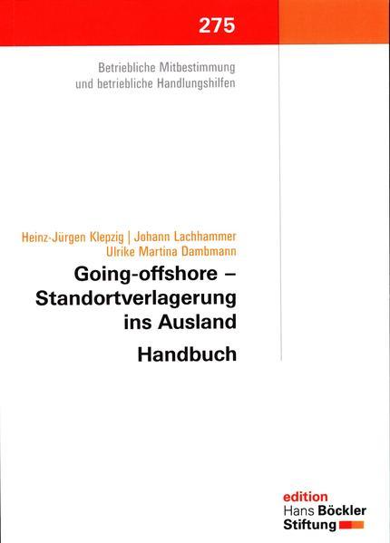 Going-offshore- Standortverlagerung ins Ausland - Coverbild