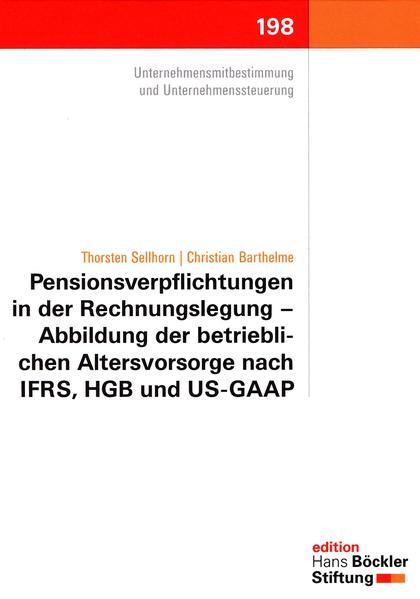 Pensionsverpflichtungen in der Rechnungslegung - Coverbild