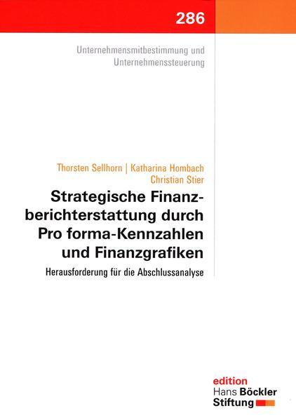 Strategische Finanzberichterstattung durch Pro forma-Kennzahlen und Finanzgrafiken - Coverbild