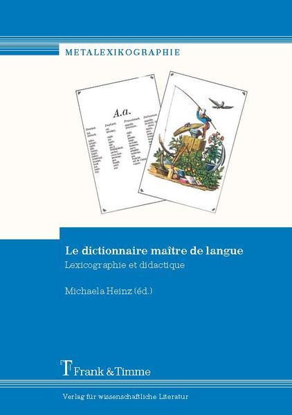 Le dictionnaire maître de langue - Coverbild