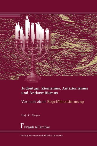 Judentum, Zionismus, Antisemitismus und Antizionismus - Coverbild