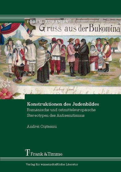 Konstruktionen des Judenbildes - Coverbild