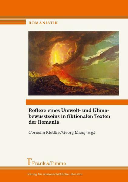 Reflexe eines Umwelt- und Klimabewusstseins in fiktionalen Texten der Romania - Coverbild