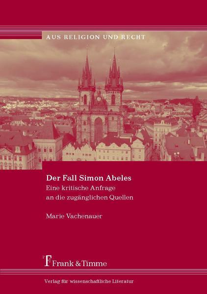 Der Fall Simon Abeles - Coverbild