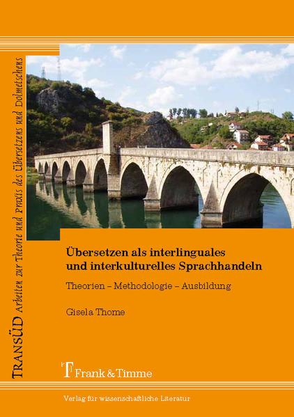 Übersetzen als interlinguales und interkulturelles Sprachhandeln - Coverbild