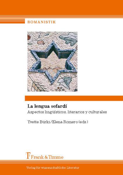 La lengua sefardí - Coverbild