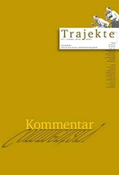 Trajekte 31 - Coverbild