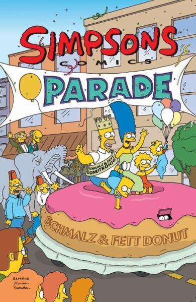 Simpsons Comics - Coverbild