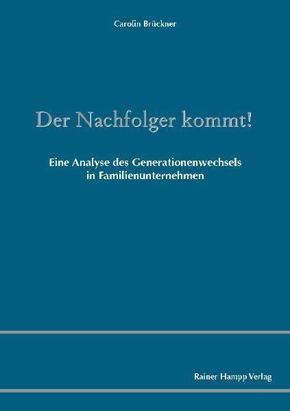 Der Nachfolger kommt! - Coverbild