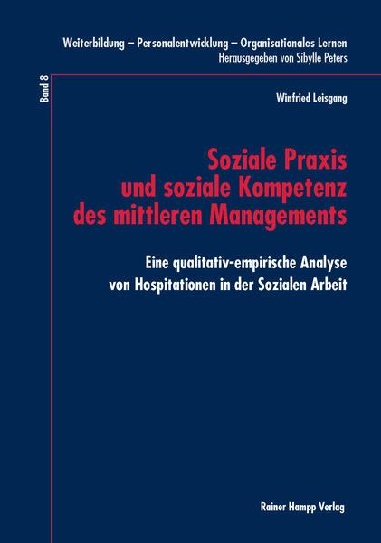 Soziale Praxis und soziale Kompetenz des mittleren Managements - Coverbild