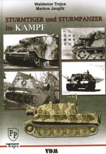 Sturmtiger und Sturmpanzer im Kampf - Coverbild