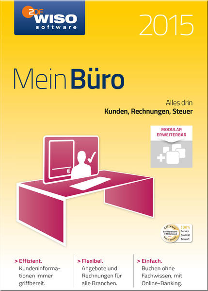 WISO Mein Büro 2015 - Coverbild