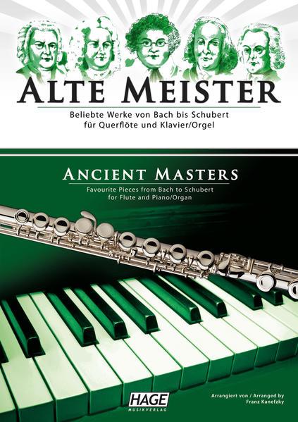 Alte Meister für Querflöte und Klavier/Orgel - Coverbild