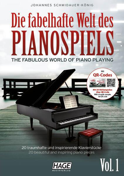 Die fabelhafte Welt des Pianospiels mit CD Vol.1 - Coverbild