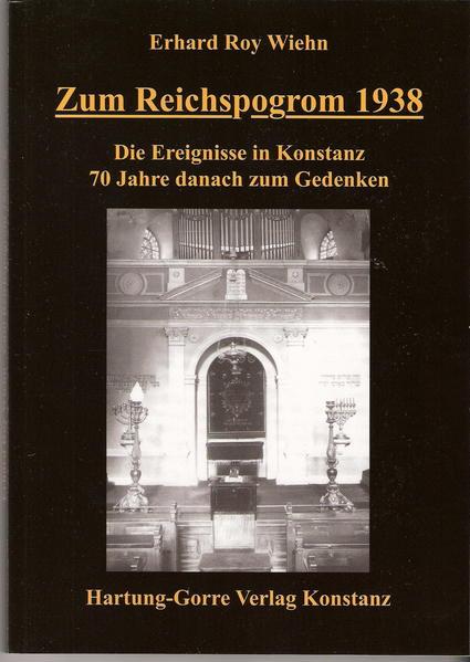 Zum Reichspogrom 1938 - Coverbild