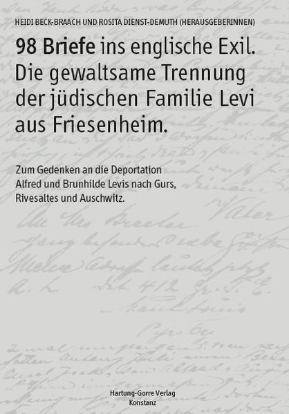 98 Briefe ins englische Exil - Coverbild