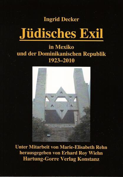 Jüdisches Exil in Mexiko und der Dominikanischen Republik 1923-2010 - Coverbild