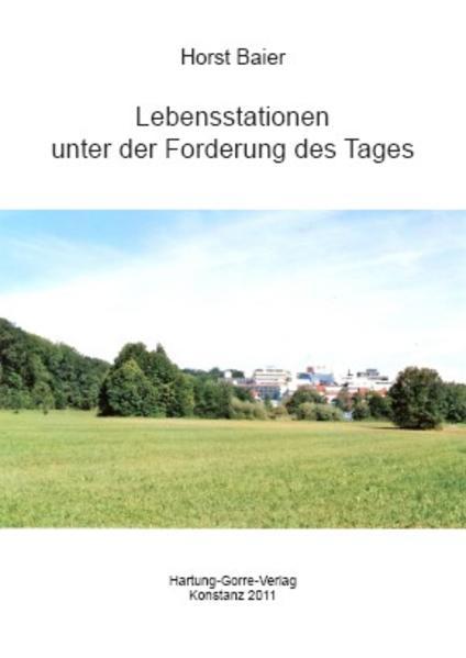 Lebensstationen unter der Forderung des Tages - Coverbild